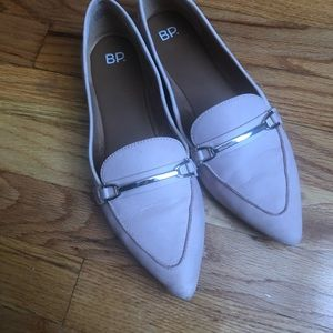 Pink BP loafers from Nordstrom